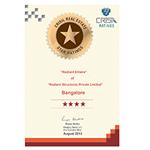Radiant Elitaire certificate
